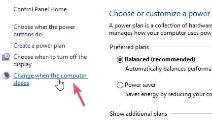 Windows 10 turn off automatic sleep mode 03