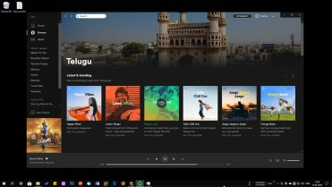 Spotify app on windows 10