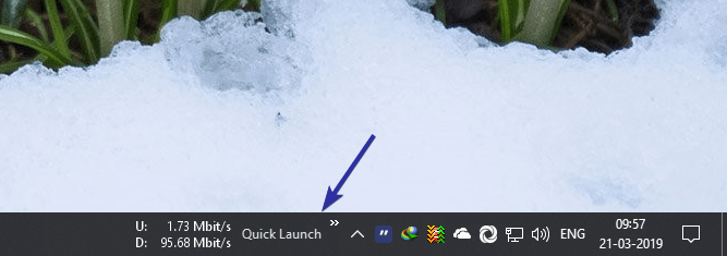 Add quick launch toolbar 04