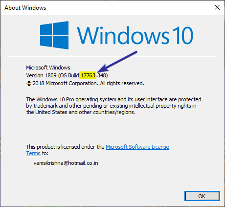 Check powershell version windows 10 03