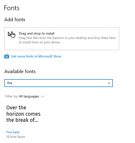 Install fonts in windows 10 09