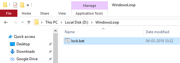 Win10 lock folder with password 02