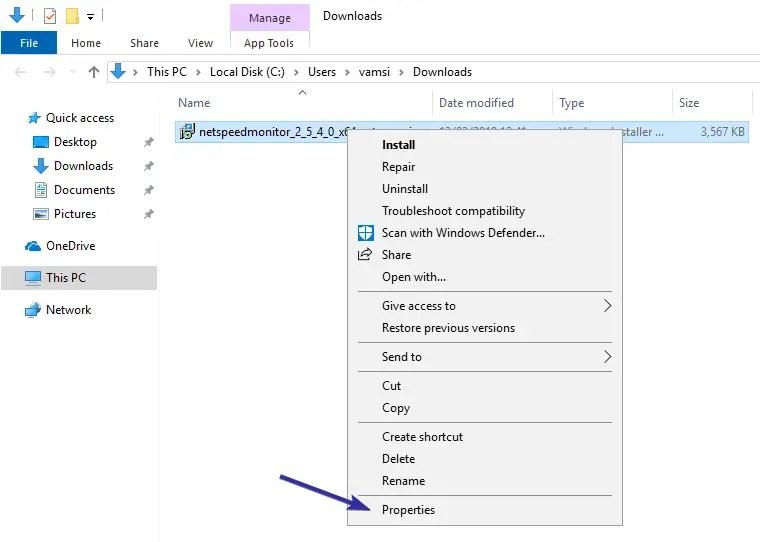 Windows 10 bandwidth monitoring toolbar 01