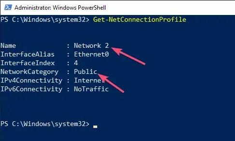 Windows 10 change network location type 04