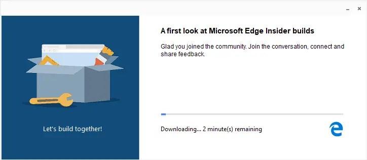 Install chromium edge in windows 10 02