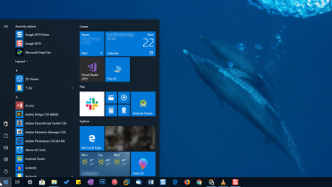 My computer in start menu featured