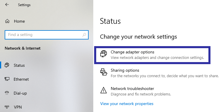 Change network priority step 02