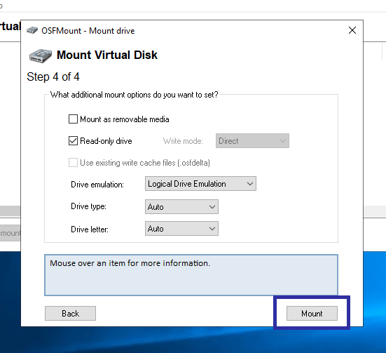 Convert img to iso in windows 08