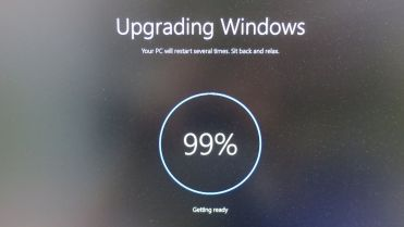Windows 10 upgrading