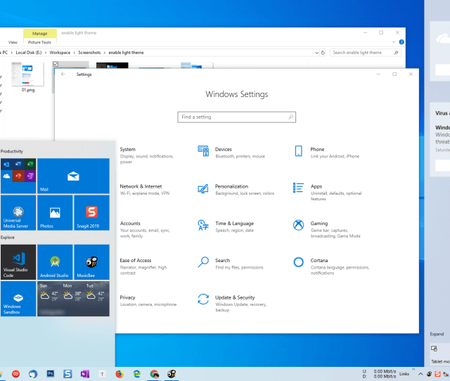 Enable Windows 10 Light Theme Step 02
