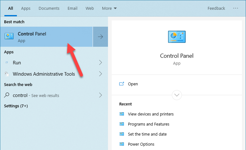 Windows default printer 03