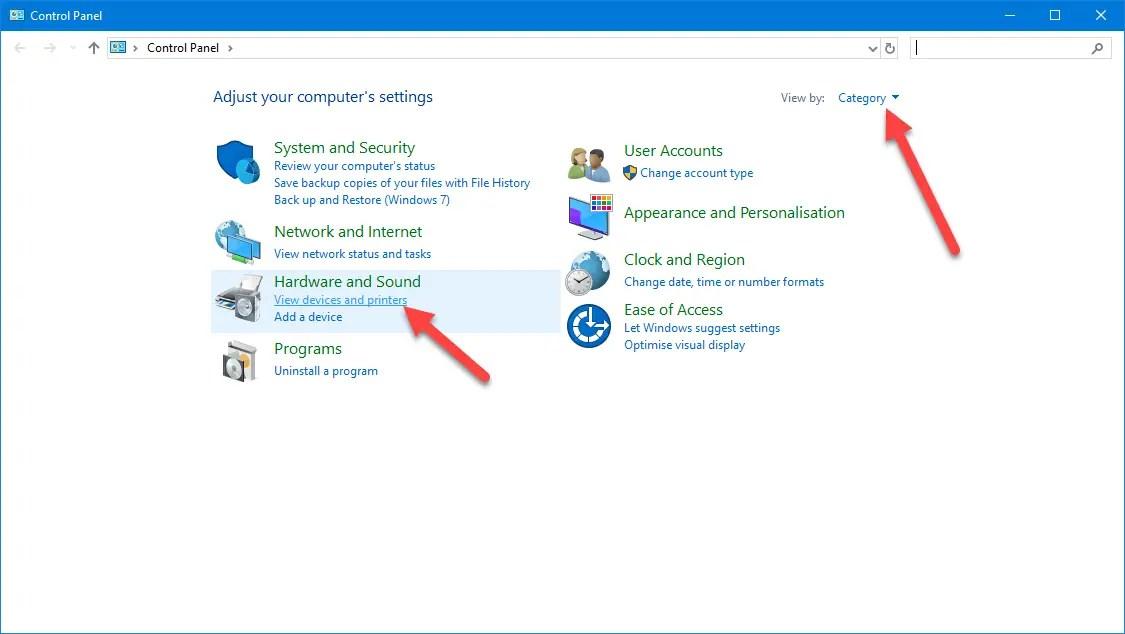 Windows default printer 04