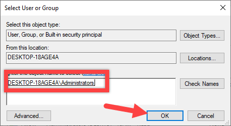 Add open command prompt here option win 10 - confirm username