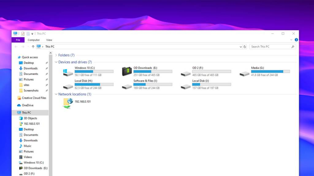 Win 10 change drive icon - featured
