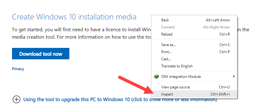 Download-windows-10-iso-without-media-creation-tool-chrome-select-inspect