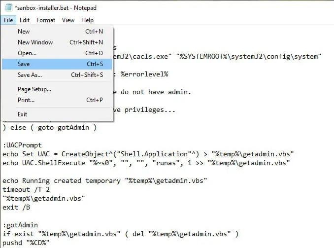 Windows-sandbox-in-home-edition-save-file