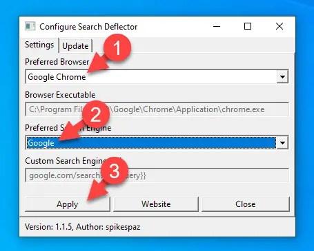 Change-windows-10-start-menu-search-engine-configure-settings