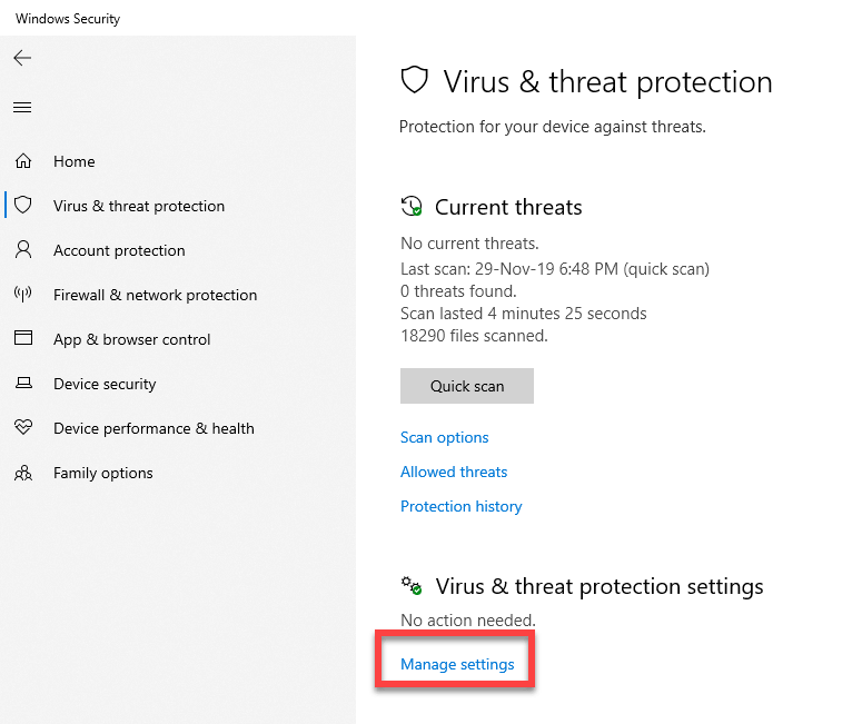 Windows-defender-exclude-folder-file-click-manage-settings