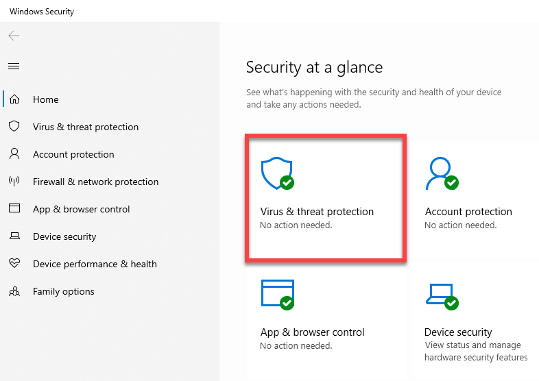Windows-defender-exclude-folder-file-select-virus-and-threat-protection-option