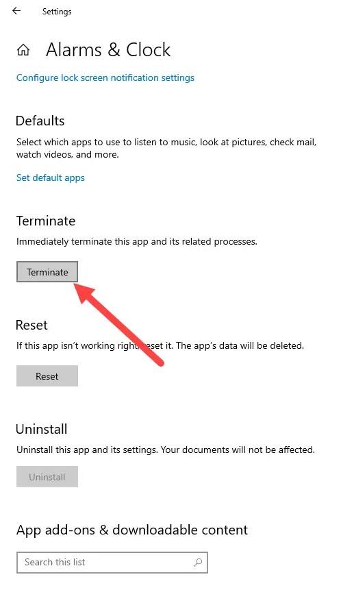 Terminate-microsoft-store-apps-windows-10-click-terminate-button
