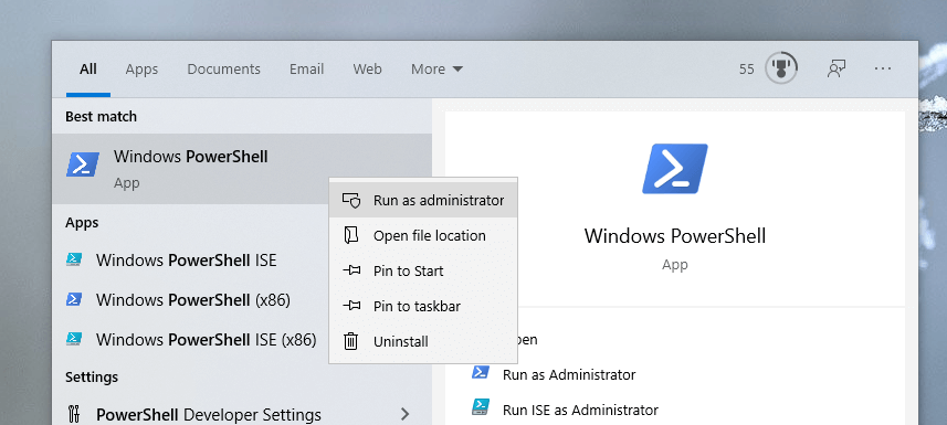 Backup-bitlocker-recovery-key-windows-open-powershell-admin