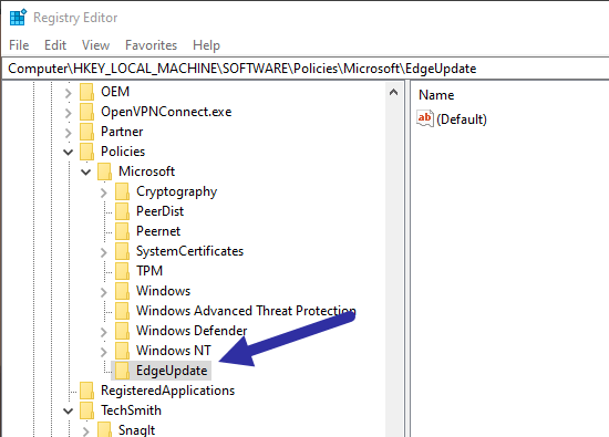 Restore-old-edge-browser-create-folder