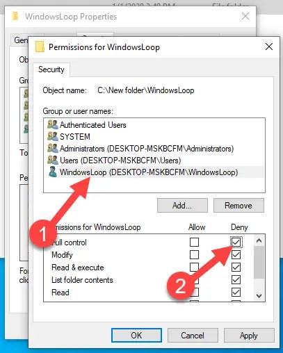 Restrict-folder-access-windows-select-deny