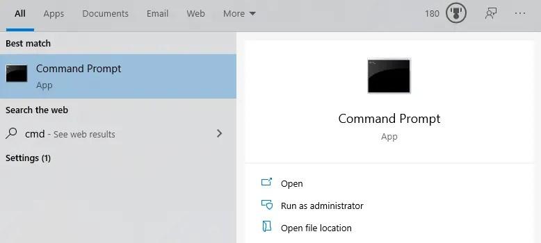 Windows-10-mac-address-open-cmd