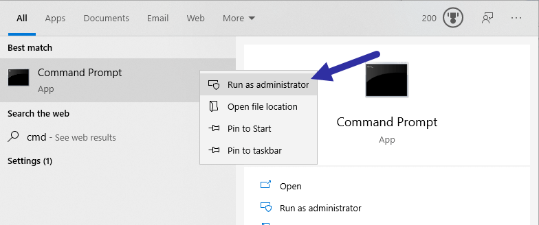 Windows-10-not-shutting-down-fix-cmd-as-admin