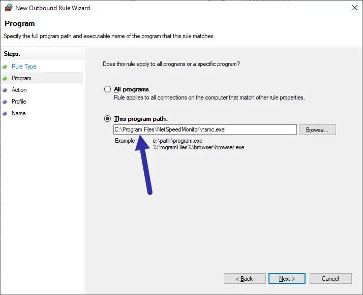 Block-program-with-windows-firewall-program-path-modified