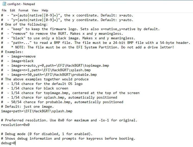 Change-boot-logo-windows-config-file