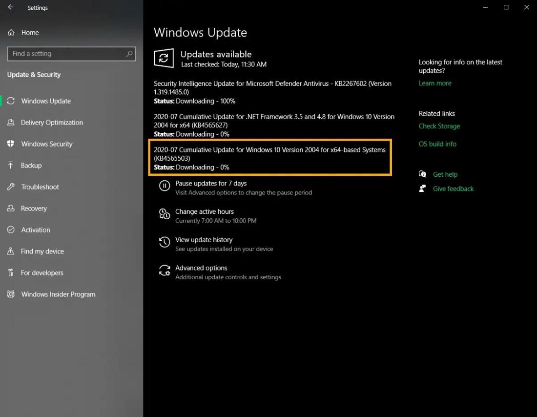 Kb4565503-update