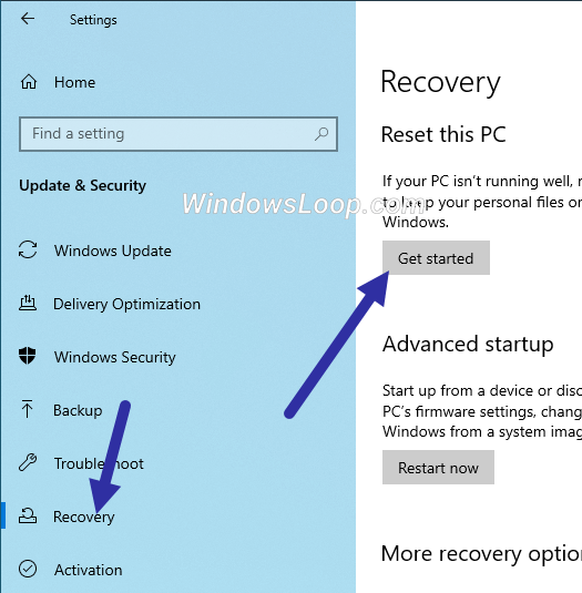 Click-get-started-to-reimage-windows-10-270720