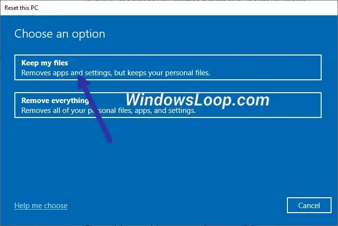 Keep-my-files-option-windows-10-270720