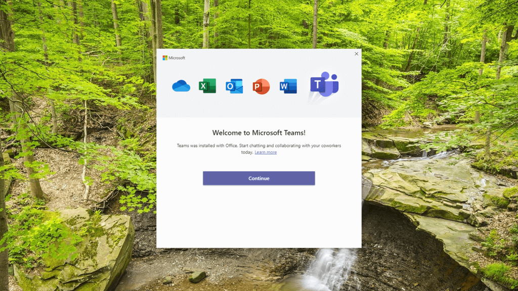 Microsoft-teams-welcome-page-100720