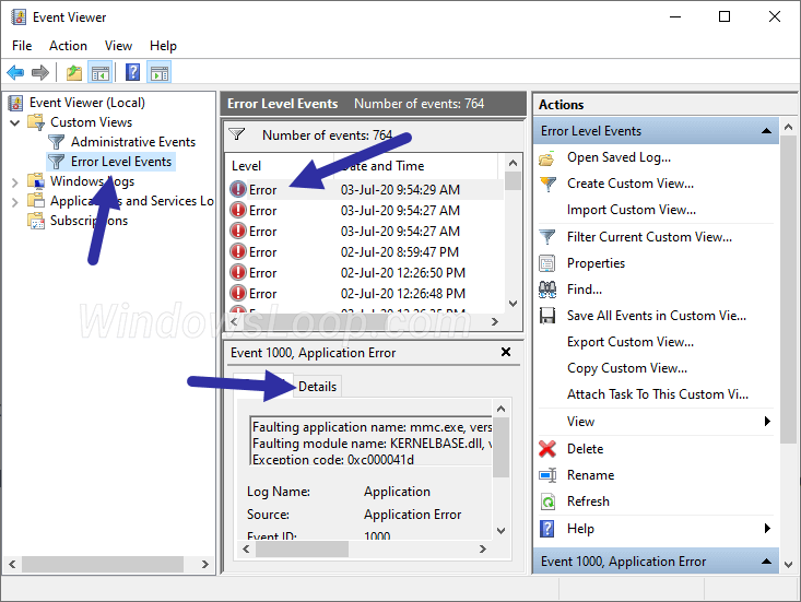 Use-custom-view-to-locate-bsod-logs-030720