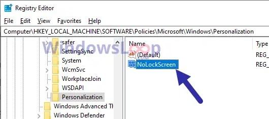 Nolockscreen-dword-value-to-disable-lock-screen-windows-10-310820