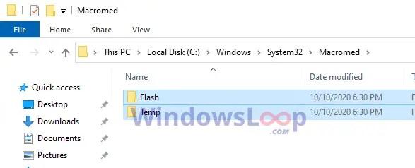 Delete-left-over-adobe-flash-files-system32-101020