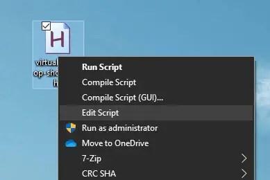 edit ahk file