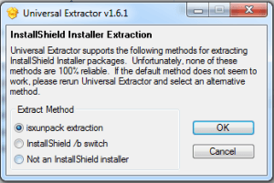 universal-extractor-select-method-of-extraction