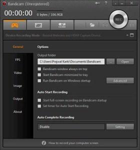 bandicam-interface