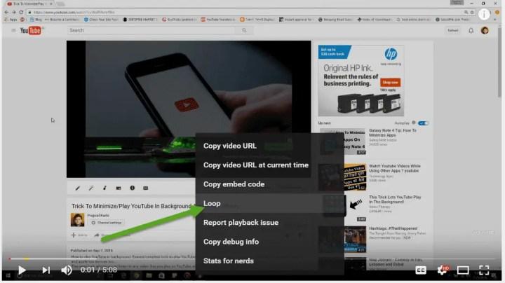 youtube-loop-options