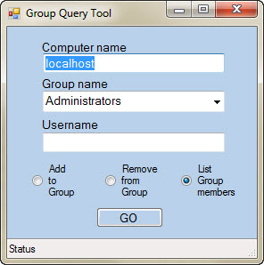 group-query-tool