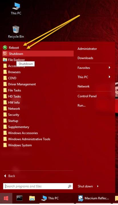 Gandalf's Windows 10PE x64 Redstone 3 build 16299 version 03