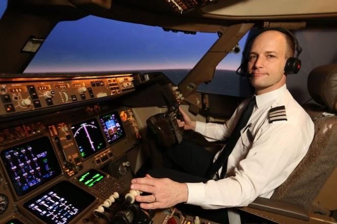 Profesi pilot dengan tanggungjawab yang besar