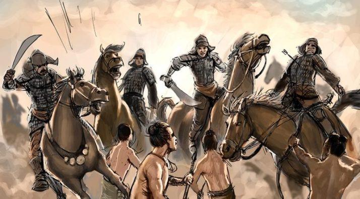 serangan tentara kubilai khan