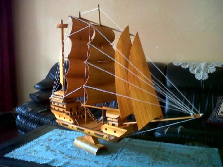 Miniatur Kapal Mancanegara