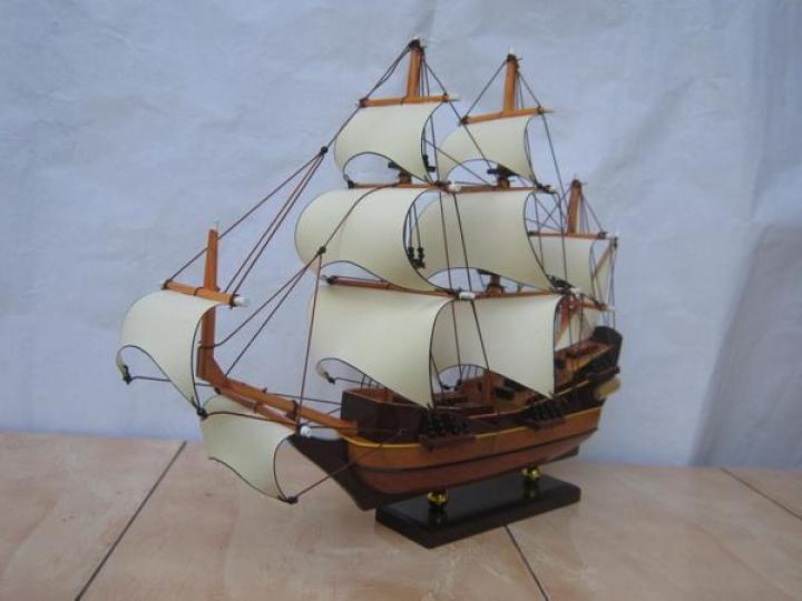 Miniatur Kapal Batavia