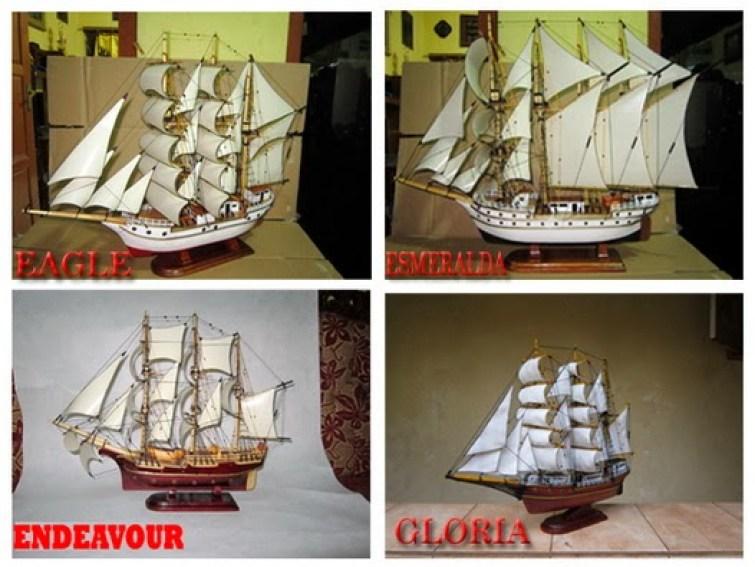 miniatur kapal klasik mancanegara
