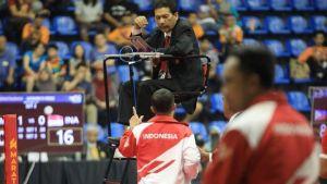 Read more about the article Merasa Dicurangi Ketika Melawan Malaysia, Tim Takraw Putri Indonesia Walkout